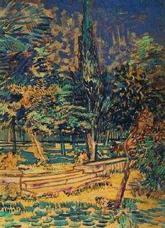 Aquarelle, mai 1889 ? (F 1535 / JH 1713), Van Gogh Museum, Amsterdam.