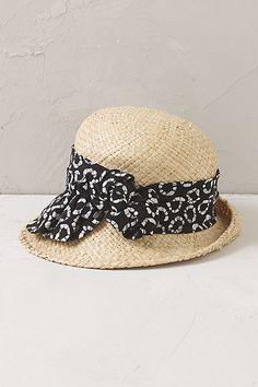 Anthropologie EU Adora Cloche Hat
