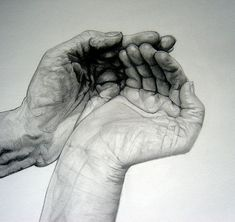 Sketches of Hands | Analyzing the Faulty Vanishing Points on my Pencil Sharpener Drawing