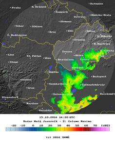 SHMÚ.sk - Radarové informácie