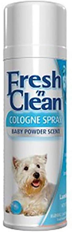 Lambert Kay Fresh 'N Clean Cologne Finishing Spray - Baby Powder Scent #doggrooming