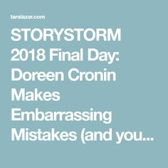 Off 20 postmates promo code reddit free delivery coupon code storystorm 2018 final day doreen cronin makes embarrassing mistakes and you can too fandeluxe Gallery