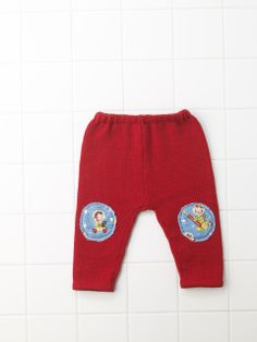 Pantalone in lana con toppe zinzeta.it