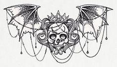 Gothic Crest design (UT8582) from UrbanThreads.com