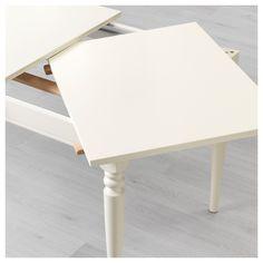 Ikea Ingatorp Extendable Table White