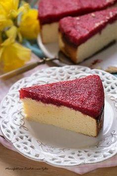 Fit sernik z jogurtów z mąką kokosową Helathy Food, Sweet Recipes, Cake Recipes, Cooking Time, Cooking Recipes, Polish Recipes, Polish Food, Healthy Sweets, My Favorite Food