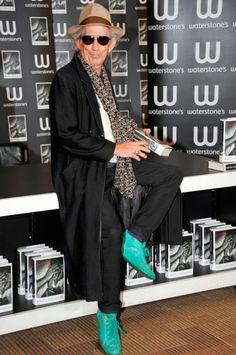 Photos: Keith Richards | The 2013 International Best-Dressed List | Vanity Fair...LOVE THE SHOES!