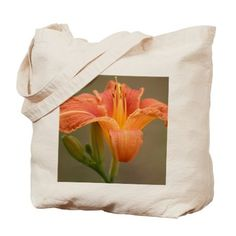 #Orange #Asiatic #Lily #Tote #Bag on #CafePress.com