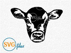 Cow Clipart, Cow Vector, Cow Tattoo, Cow Face, Cow Head, Cow Shirt, Cow Painting, Cute Cows, Make And Sell