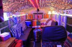 I WILL DO THIS TO THE INSIDE OF MY HIPPIE BUS.  ESPECIALLY THE CHRISTMAS LIGHTS ON THE CEILING. THIS IS SO FREAKING INTENSE.
