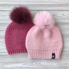 knitting by aapknitting Baby Hats Knitting, Baby Knitting Patterns, Hand Knitting, Knitted Hats, Crochet Projects To Sell, Knitting Projects, Crochet Winter Hats, Sell On Etsy, Knit Crochet