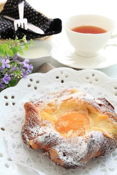 Apricot Danish recipe. Just made these and they are fabulous - and so easy.