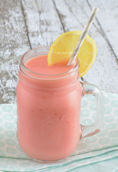 Raspberry-lemon smoo