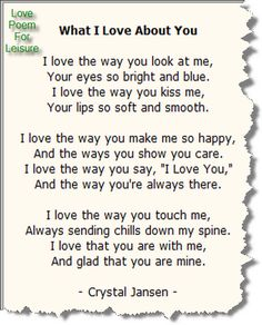 Intense+Love+Poems | ... Love Quotes and Saying Funny Love Poems: Funny Love Poems For Kids