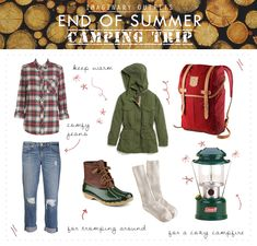 Imaginary Outfits: End Of Summer Camping Trip