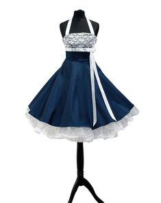 Brautkleid,50er Jahre, knielang, Hochzeitskleid, von Rockabillymode swingdress bridal petticoats  auf DaWanda.com