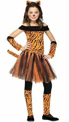 Brand New Fun World Spunky & Funky Sweet Tigress Child Costume for Halloween Halloween Costumes For Girls, Halloween Cosplay, Halloween Fun, Kids Tiger Costume, Seussical Costumes, Diy Costumes, Costume Ideas, Musical Rey Leon, Jungle Costume