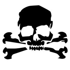 Decals - Stickers - Vinyl Decals - Car Decals for Windows, Vehicle Windows, Vehicle Body Surfaces, Motorcycles or just about any surface! Car Window Stickers, Car Stickers, Car Decals, Vinyl Decals, Skull Stencil, Stencil Art, Skull Art, Skull Decor, Pirate Cartoon