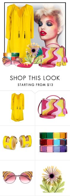 """""""Chrysanthemum"""" by doozer ❤ liked on Polyvore featuring Etro, Mark Cross, Valentino, Fendi and Christian Louboutin"""