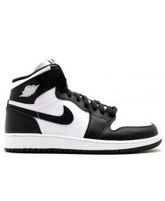 06c819f189b7a9 Air Jordan 1 Retro High Og Bg Gs Black White Black 575441 010