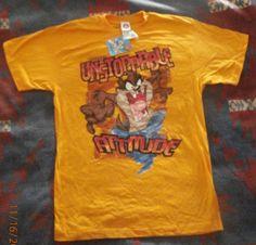 TAZ Unstoppable Attitude T-Shirt Size Large