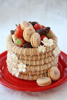 no Mini Cupcakes, No Bake Cake, Waffles, Birthday Cake, Baking, Breakfast, Food, Morning Coffee, Birthday Cakes