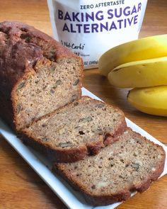 Healthy Bread Recipes, New Recipes, Healthy Breads, Quick Bread, How To Make Bread, Homemade Strawberry Jam, Sugar Alternatives