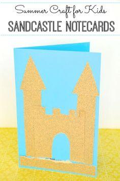 Sandcastle notecards