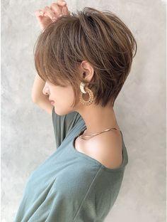korter haar (mag ginza) in 2020 Edgy Short Hair, Asian Short Hair, Short Hair With Layers, Cute Hairstyles For Short Hair, Short Hair Cuts For Women, Layered Hair, Hairstyles Haircuts, Wedge Hairstyles, Pixie Haircuts