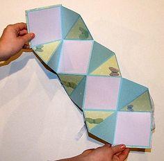 Accordion Mini Scrapbook - Mini Album Scrapbook Gifts