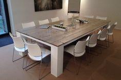 NAB, vergadertafel op maat 12 personen