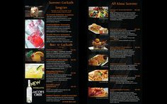 menu designed by Perfect Pixel Graphics