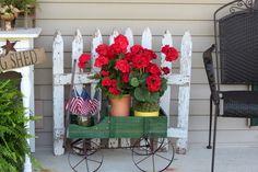 After living here for six years and having nothing on the front porch… :: Hometalk