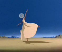 """This is a screen capture from the Dali / Disney collaboration """"Destino""""."""