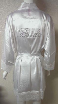 Bride Robe. Bridesmaid Robe. Bachelorette Party. by JWBridalShop, $41.00