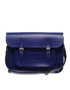 Cambridge Satchel in cobalt blue