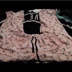 Pink vs pjs- Paris Pjs❤️ size large PINK Victoria's Secret Intimates & Sleepwear Pajamas