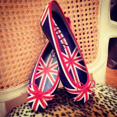 Adorable perfection. London Sole special edition Henrietta flats for the 2012 London Olympics! Can I go to London please!
