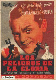 Los Peligros de la Gloria - Programa de Cine - James Cagney - Evelyn Daw James Cagney, James Francis, American Actors, Dancer, Movie Posters, Movies, Old Books, Crime, Brochures