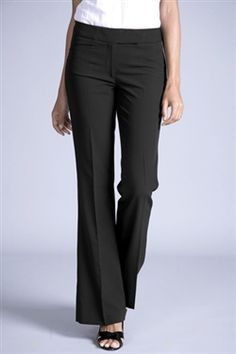 Metro Pants - 4 Season Stretch, Fashionable female corporate uniforms, office uniforms, and career apparel Corporate Uniforms, Office Uniform, Flare Pants, Cotton Silk, Dress Pants, Stretches, Pants For Women, Trousers, Female