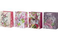 #Geschenktaschen #Geschenktüten Floral Tie, Accessories, Deco, Ornament