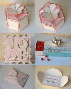 Really cut cut files for valentine's day. I made the box and it was os easy!