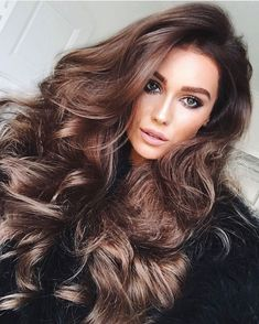 Women with Beautiful Hair — babes-with-sexy-hair: Nicoline Artursson. Long Brown Hair, Long Curly Hair, Big Hair, Curly Hair Styles, Thick Hair, Long Face Hairstyles, Wig Hairstyles, Beautiful Long Hair, Gorgeous Hair