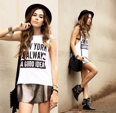 #punk #rock #women #fashion #cute #girly #pretty #gorgeous #outfit #ootd