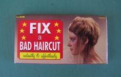 $1.50  Fix a Bad Haircut Gum