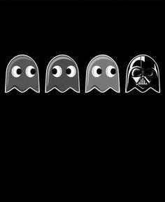 PAC-MAN + Darth Vader