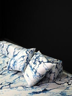 Mathias Kiss & Pierre Frey Release a Marble-Inspired Print Pierre Frey, Mathias Kiss, Curtain Patterns, Marble Print, Textiles, Home Decor Fabric, Natural Texture, My Living Room, Fabric Painting