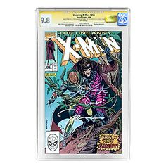 Taylor Kitsch Autographed CGC SS Signature Series 9.8 Uncanny X-Men #266 with Jim Lee @ niftywarehouse.com #NiftyWarehouse #Xmen #Marvel #X-Men #Comics #Geek #ComicBooks