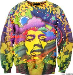 Jimi Hendrix Sweater