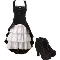 """""""Victorian Style"""" by bvb3666 on Polyvore this is the kind of dress i want to get married in"""
